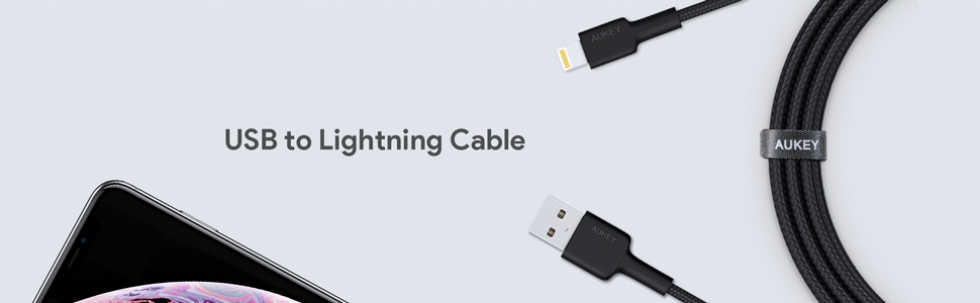 Cavo Lightning 2m Nylon certificato Apple